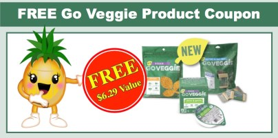 Free Go Veggie Product Coupon