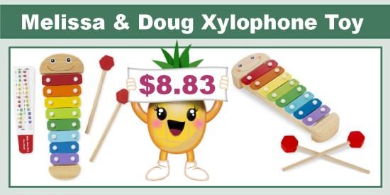 Melissa & Doug Caterpillar Xylophone Toy
