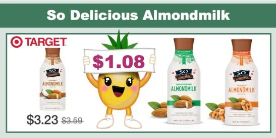 so delicious almondmilk coupon deal