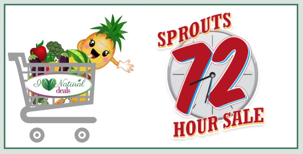 Sprouts 72-Hour Sale This Weekend (January 13 - 15)!