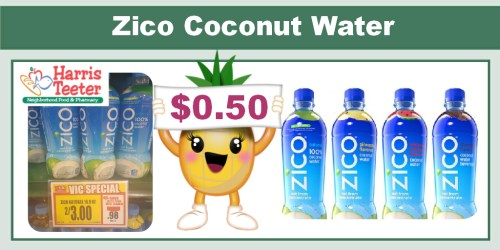 Zico Coconut Water Coupon Deal