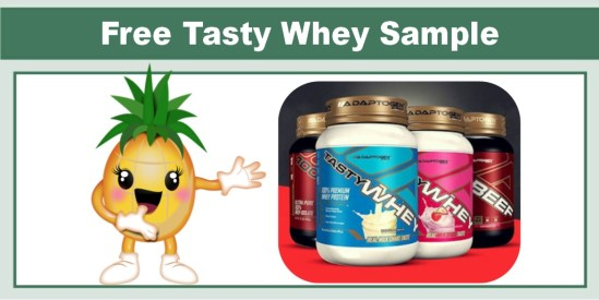 tasty whey protein drink free sample