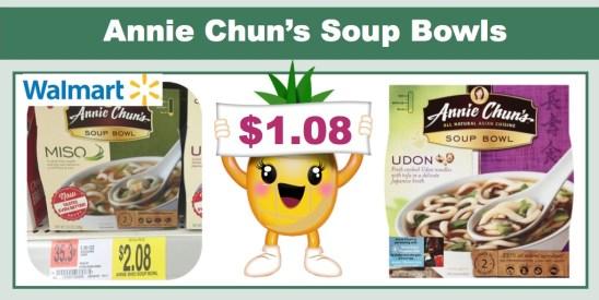 annie chuns soup bowls coupon deal