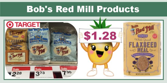Bob's Red Mill Products Coupon Deal