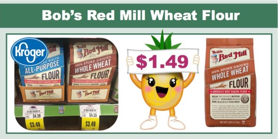 Bob's Red Mill Wheat Flour coupon deal