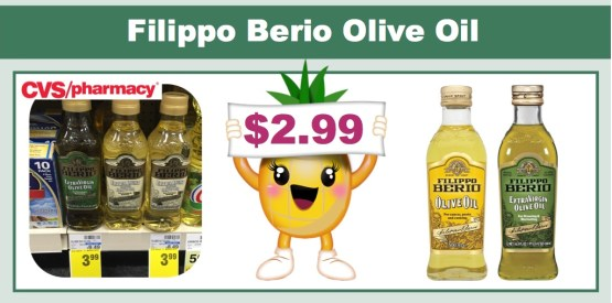 Filippo Berio Olive Oil coupon deal