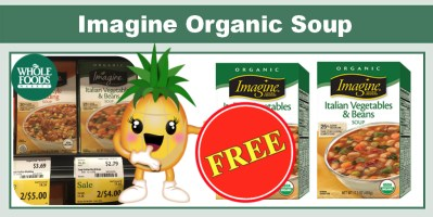 imagine organic soup coupon deal