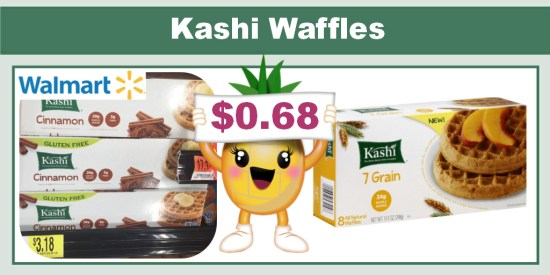 Kashi Waffles coupon deal