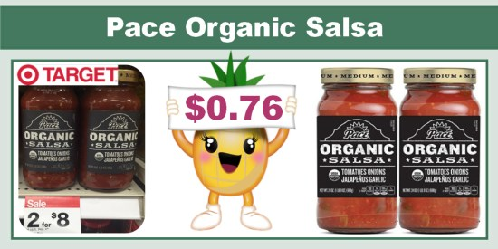pace organic salsa coupon deal