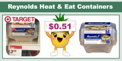 reynolds heat & eat containers coupon deal