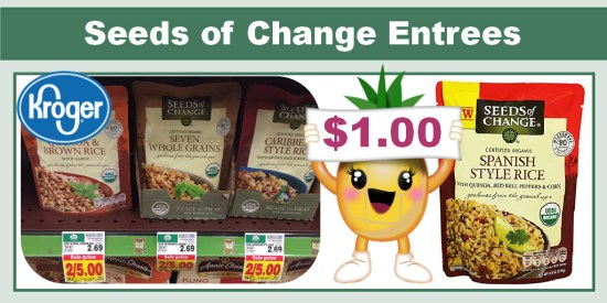Seeds of Change Organic Rice and Grains Coupon Deal