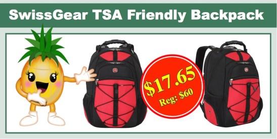 SwissGear SA6799 TSA Friendly ScanSmart Computer Backpack