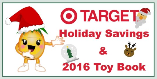 target holiday savings and 2016 toy book