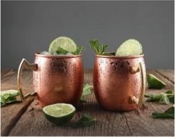 Cambridge® Moscow Mule Mug 20oz Copper Set of 4