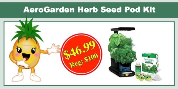 AeroGarden Gourmet Herb Seed Pot Kit