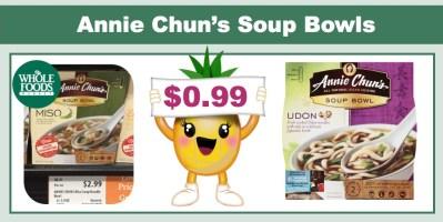 annie chun's soup bowls coupon deal