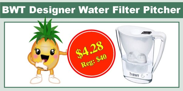 BWT Designer Water Filter Pitcher