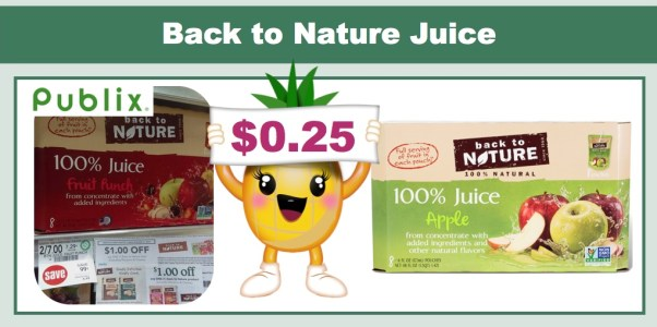 back to nature juice coupon deal