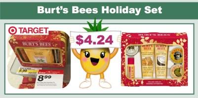 burt' s bees holiday gift sets