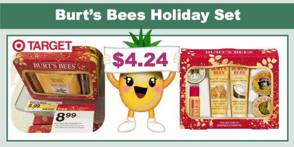 burt' s bees holiday gift sets