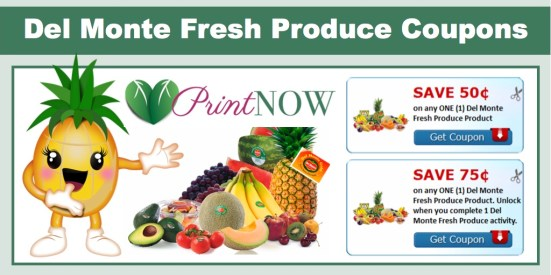 del monte fresh produce coupons