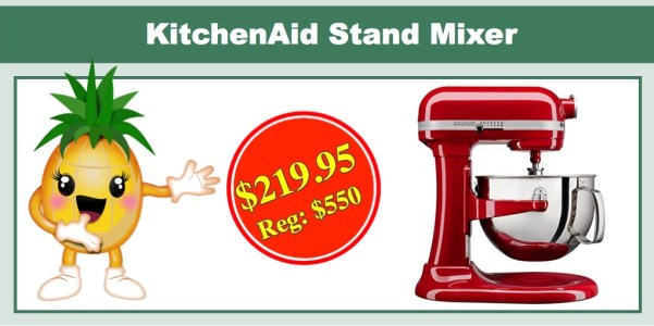 KitchenAid KL26M1XER Professional 6-Qt. Bowl-Lift Stand Mixer