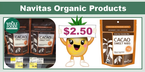 Navitas Naturals Organic Products Coupon Deal