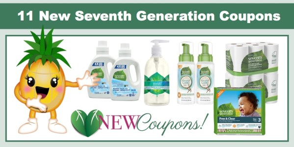 NEW Seventh Generation Coupons