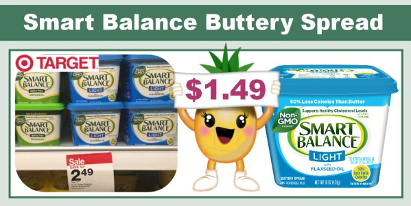 Smart Balance Buttery Spread Coupon Deal