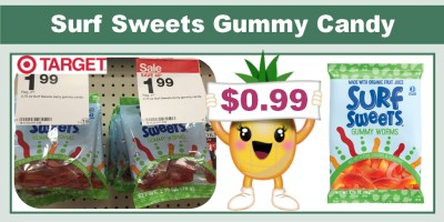 Surf Sweets Gummy Candy Coupon Deal