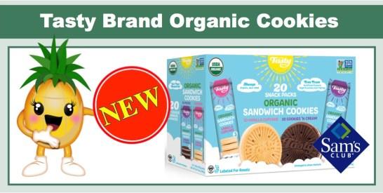 tasty brand orgranic sandwich cookies sams club