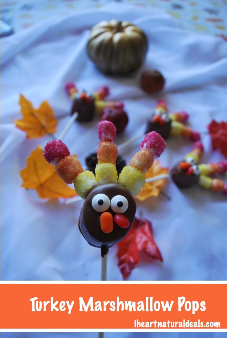 chocolate turkey marshmallow pops pinterest