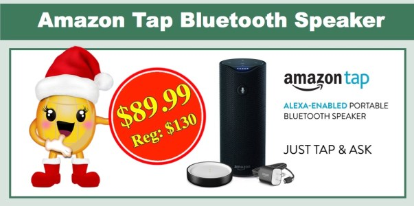 Amazon Tap Alexa-Enabled Bluetooth Speaker