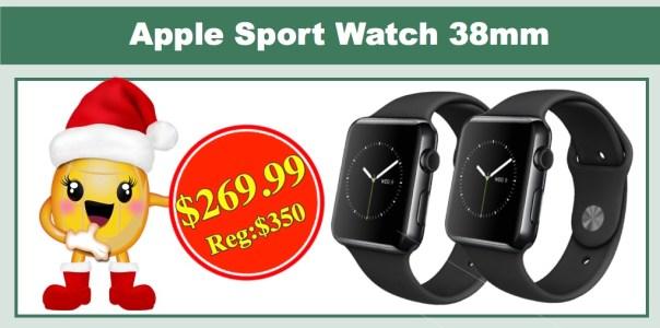 Apple Sport Watch 38mm