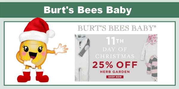 Burt's Bees Baby 25% Off Herb Garden