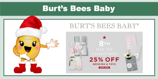 Burt's Bees Baby: 25% Off Bedding and Toys