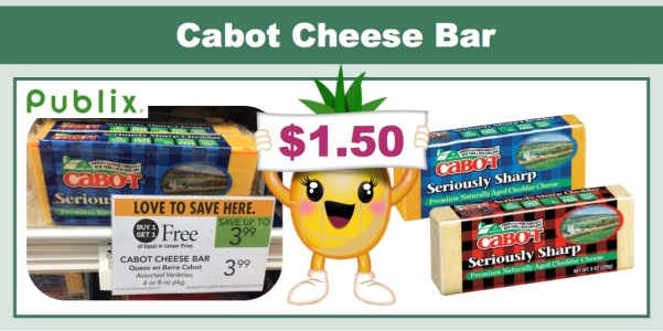 Cabot Cheese Bar Coupon Deal