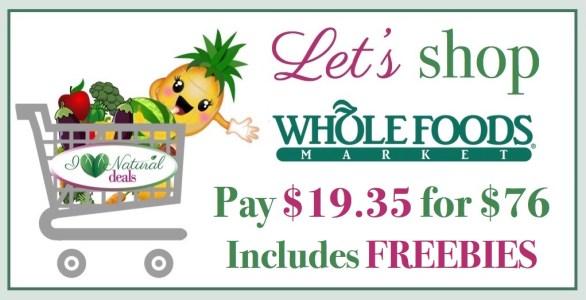 Let's Shop Whole Foods