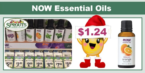NOW Essential Oils Coupon Deal