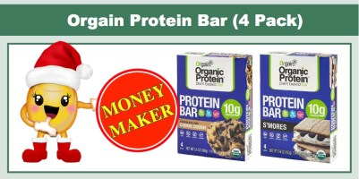 Orgain Protein Bars (4 Pack)