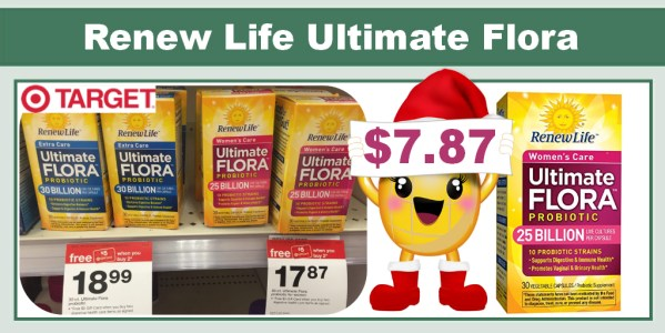 Renew Life Ultimate Flora Probiotic Coupon Deal
