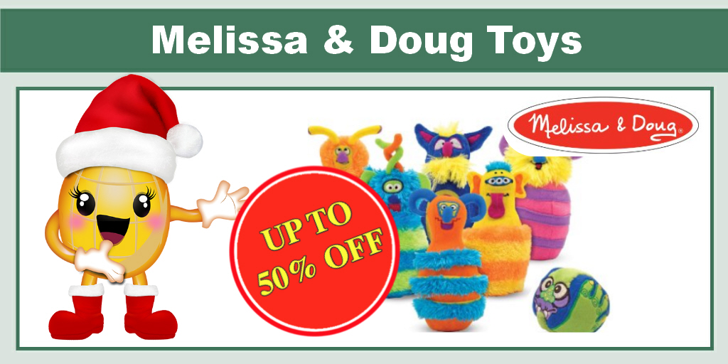 Up to 50% off Melissa & Doug Toys