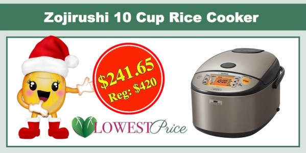 Zojirushi NP-HCC18XH Induction Heating System Rice Cooker 10 Cup