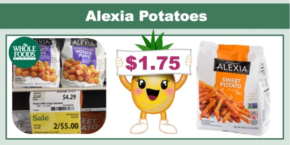 Alexia Potatoes Coupon Deal