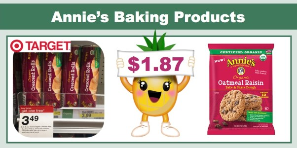 Annie's Baking Products Coupon Deal