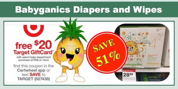 Babyganics Diapers and Wipes