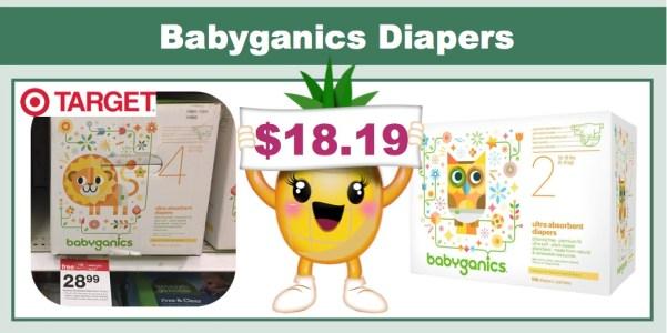 Babyganics Diapers Coupon Deal