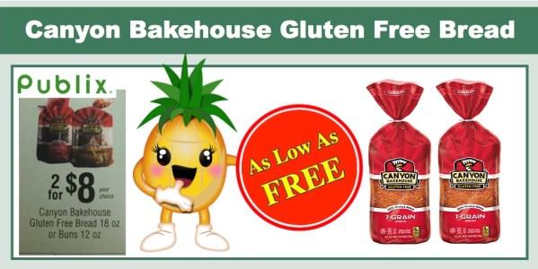 Canyon Bakehouse Gluten Free Bread Coupon Deal