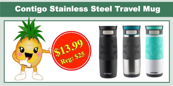 Contigo AUTOSEAL Stainless Steel Travel Mug