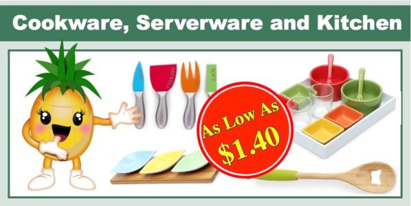 Cookware, Serverware and Kitchen Gadgets